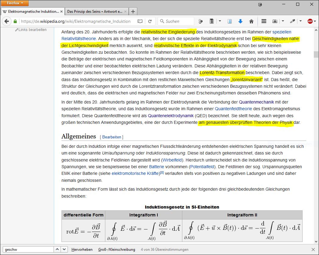 Das Prinzip des Seins • Thema anzeigen - Schneller als Einstein erlaubt!
